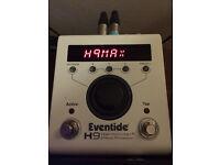 Eventide H9 MAX guitar fx pedal