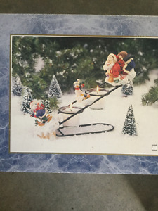 Christmas in July sales, tealight holder, in box like new