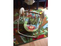 Foldable Swinging baby chair