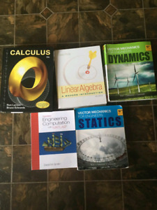 1st year Engineering Textbooks