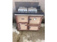 Rayburn gas central heating stove
