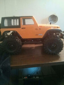 Axial scx10 all waterproof and upgrades