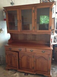 dining room set -table,4 chairs,buffet & hutch