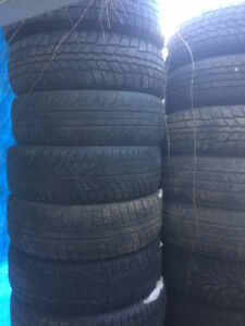 "Winter/summer Tires for sale in different sizes (13 to 19"" rad )"