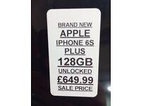 iPhone 6s Plus 128Gb unlocked BRAND NEW