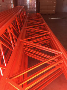 Pallet Rack frames and beams, new, priced to move