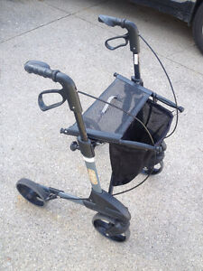 Rollator - light weight and easy to transport