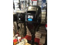 25hp Mercury Outboard Boat Engine 2015