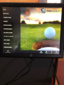 Indoor HD Golf Simulators