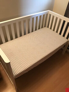 Crib and Mattress for sale.
