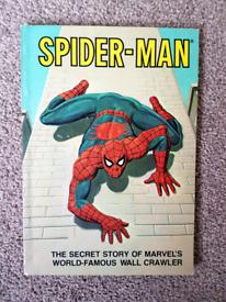 Spider-man The Secret story of Marvels Wall Crawler Rare retro vintage