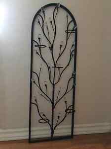 4 Wrought Iron Candle Holders