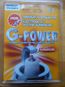 NGK PLATINUM TIP G-POWER SPARK PLUGS  **NEW**