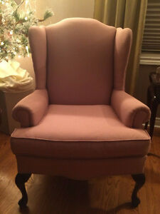 2 Barrymore Wing Back Chairs