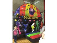 12x15ft DISCO DOME INFLATABLE BOUNCY CASTLE FOR SALE WITH DISCO LIGHTS AND BLUETOOTH SPEAKER