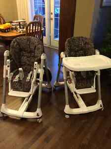 Prima Pappa Diner Peg Prego High Chairs Strathcona County Edmonton Area image 1