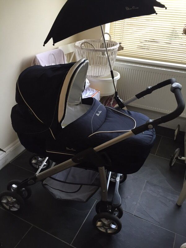 Silver Cross Linear Sleepover Pram With Original Box And