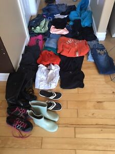 Great Bargain! Girls clothes ranging from size 10 to ladies 0.