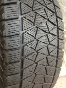 4  Bridgestone winter tires 225-65-17