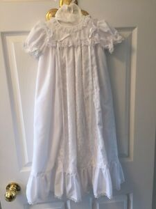 Hand made christening gowns