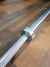 2.2m olympic barbell spining collors brand new