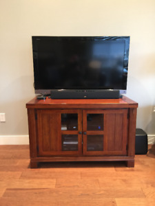 TV stand -  like new - compare at $700 in stores