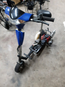 Gas scooter go ped
