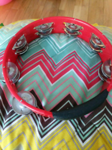 tambourine instrument kids - excellent condition High Quality