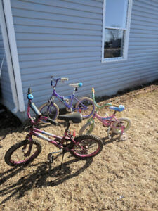 Children's bicycles free for pick up