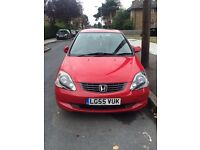 Honda Civic 2005 leather 1.6 5 door 35k mileage