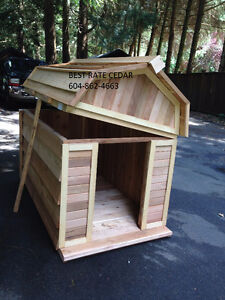 Extra tall dog house 4x5 removable roof/ insulated