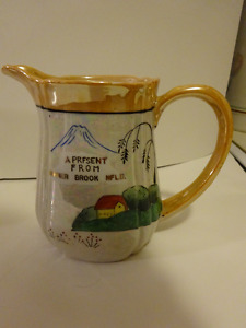 Vintage Pitcher---Souvenir of Corner Brook