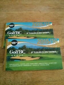 Golf BC Coupon Books!