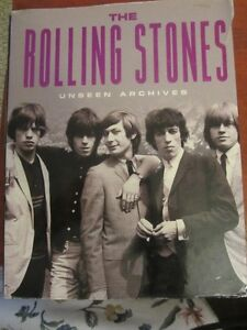 ROLLING STONES - '' UNSEEN ARCHIVES ''  - 383 PAGES