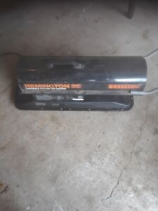 Remington torpedo heater