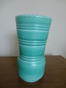 Vintage 1930s Susie Cooper Green Glazed Vase -Highly Collectible
