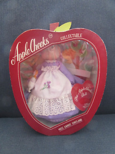 Vintage 1984 Apple Cheeks Collectible Doll