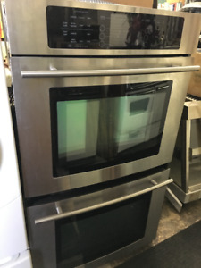 Jenn=air double wall stainless oven