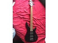 Stagg Fusion 3/4 size bass guitar with amp.