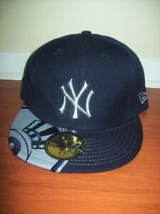 NEW SIZE 7 1/2 NEW ERA 59 FIFTY MLB FITTED NEW YORK YANKEES