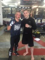 Personal training with professional fighter