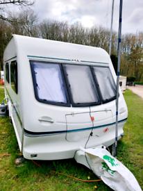 Elddis typhoon xl 1996 caravan
