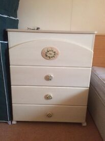 Baby Changing table and chest of drawers