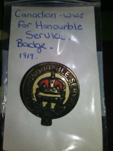Canadian military badges