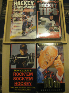 Hockey VHS Video Tapes (5 tapes)