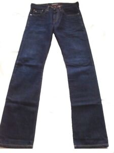 MEN'S COTTON JEANS SCOTCH&SODA-RUSHSZ.30X34 AMSTERDAMS BLAUW NEW