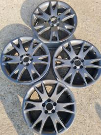"""18"""" Ford Volvo Jaguar Focus mk2, Mondeo, Kuga, C-Max, alloy wheels 468"""