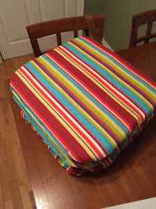 4 Lawn Chair Seat Cushions Peterborough Peterborough Area image 1
