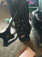 Brand new Callaway golf bag with clubs