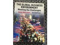 The Global business environment meeting the challenges